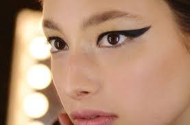 catwalk 2013 make up - brunette