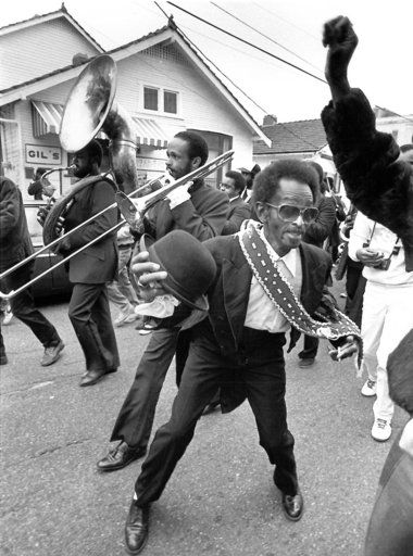new orleans - second line! Uncle Lionel back in the day.