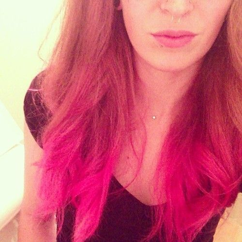 hair colour style for the gallery for gt pink ombre hair 7230