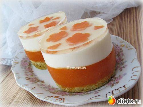 Тыквенно-йогуртовый десерт: : Дневники - diets.ru