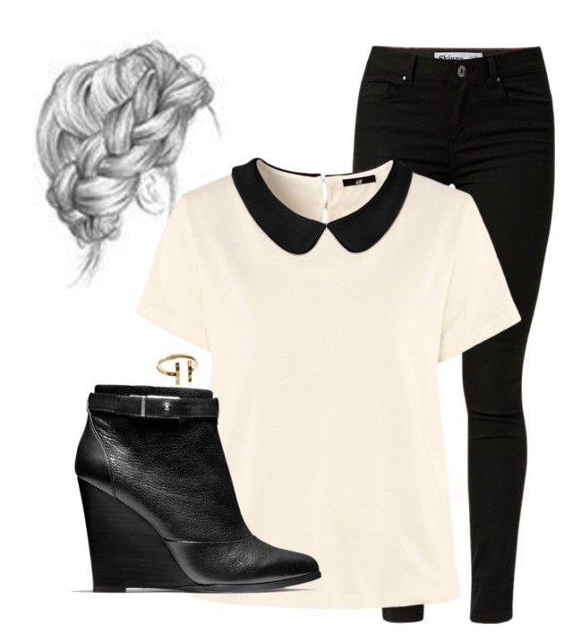 Lydia Martin Inspired Outfit by chocolatemilky on Polyvore featuring polyvore fashion style H&M Coach clothing