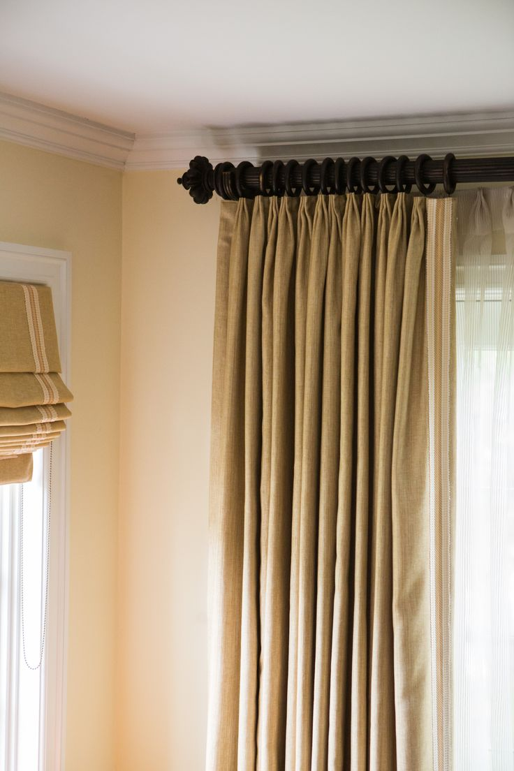 Back tab curtains on traverse rod - Try A Traverse Rod To Makes It Easy To Open And Close Curtains While Offering