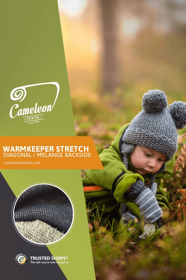 Available colors: black, white, red, blue, yellow, green, orange, purple, pink, brown, grey, cream, navy, turquoise, bordeau. Order now: https://cameleontextil.com/warmkeeper-c-135/warmkeeper-stretch-diagonal-melange-backside-p-2387.html?language=en    #cameleontextil #textiles #fabric #industry #b2b #europe #market #fashion #design #autumn #winter #warmkeeper