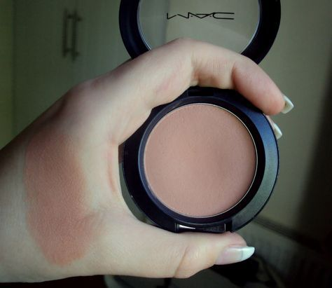 Mac blush in Tenderling. LOVE this blush! It's the perfect neutrally pink color. Great for fair skin