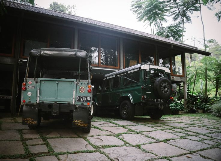 1967 land rover series 2 and 2003 land rover defender td5.