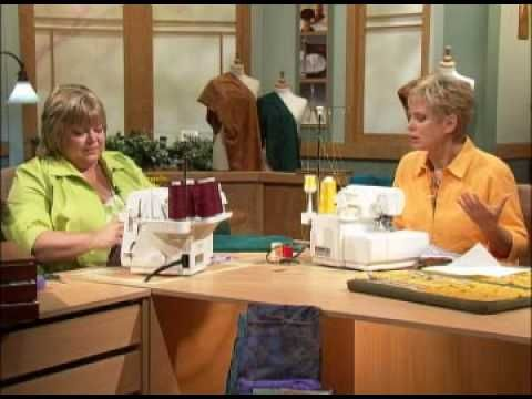 Fast and easy serger gift ideas in minutes.  Watch Nancy and guest Georgie Melot demonstrate how to create easy, easy serger projects perfect for gift giving. See the making of 2 checkbook cover options. Brought to you by Nancy's Notions. http://www.nancysnotions.com/