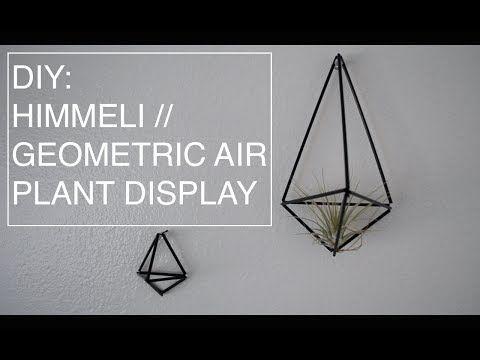 ▶ DIY Himmeli // Geometric Air Plant Display - YouTube