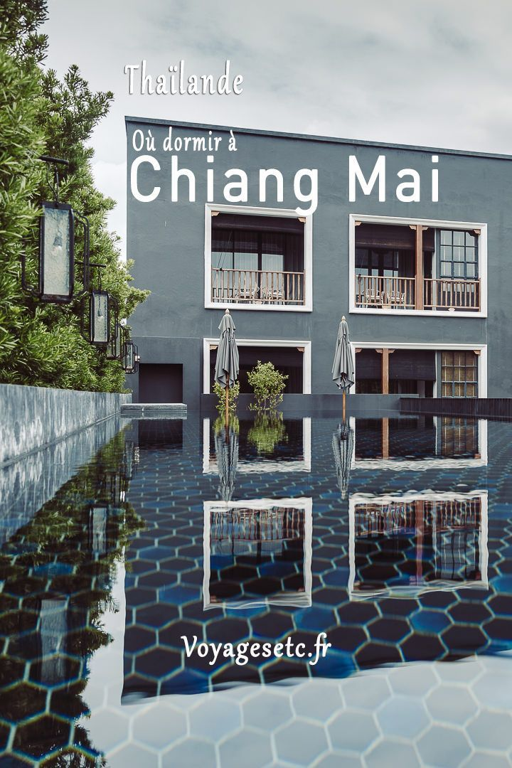 L'offre d'hébergement à Chiang Mai est riche et variée. De la simple guest house à l'hotel de luxe, d'un village reculé au quartiers animés du centre ville, je vous présente 4 quartiers aux atmosphères distinctes pour dormir à Chiang Mai    #thailande #hotel #chiangMai
