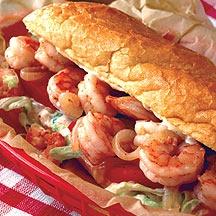 Weight Watchers Shrimp Po' Boy