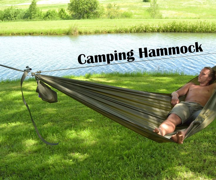 What everyone needs to make a Camping Hammock in 6 Easy Steps (with Pictures) http://www.instructables.com/id/Camping-Hammock/