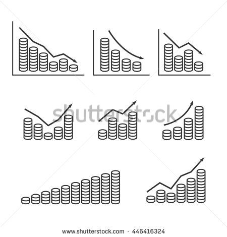 Set graphs and stack of coins