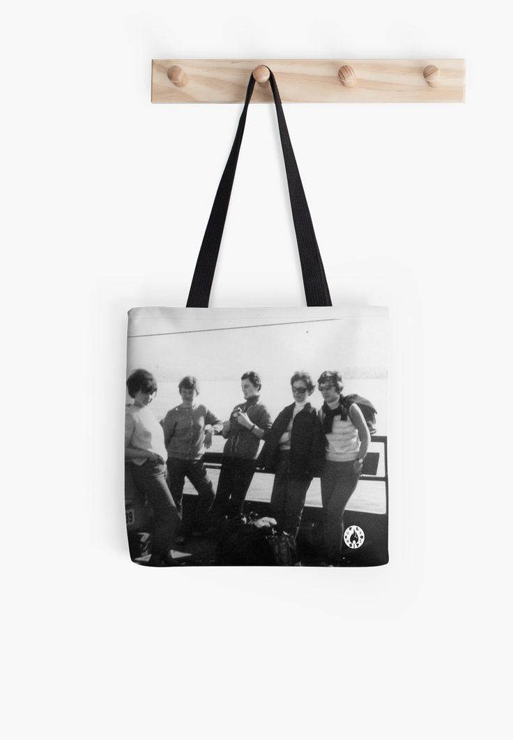 """Crossing via ferry"" tote bag by Fluxionist on Redbubble"