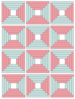 34 best Quilts: Courthouse Steps images on Pinterest   Log cabin ... : free courthouse steps quilt pattern - Adamdwight.com