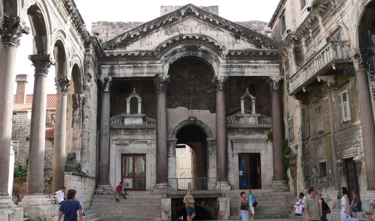 Spalato-Croazia-palazzo di Diocleziano