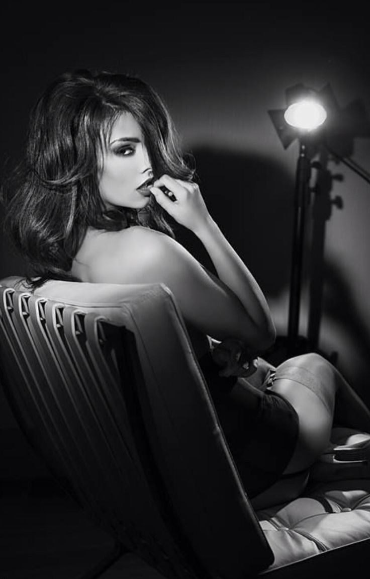 Erotic film noir bw Gorgeous Mistress