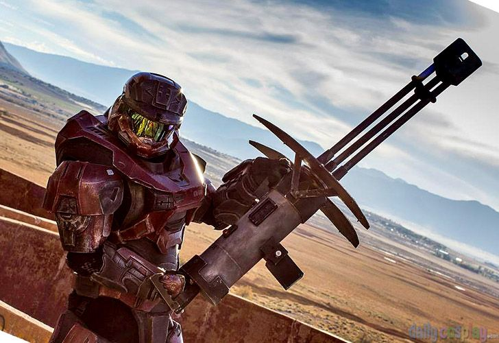 Character: Halo: Reach Armor Game: Halo: Reach Coser ...
