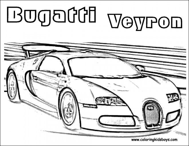 13 Aimable Coloriage Voiture Bugatti Veyron Gallery Di 2020