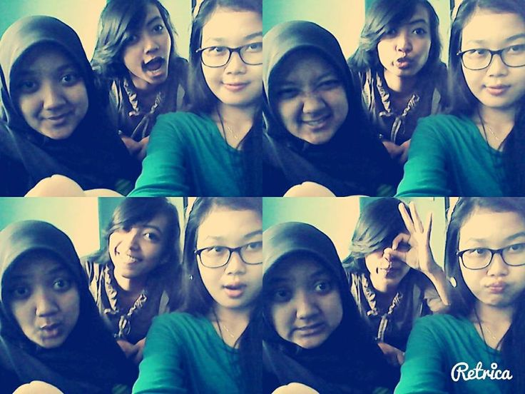 fadhila, anggrek, and me :))