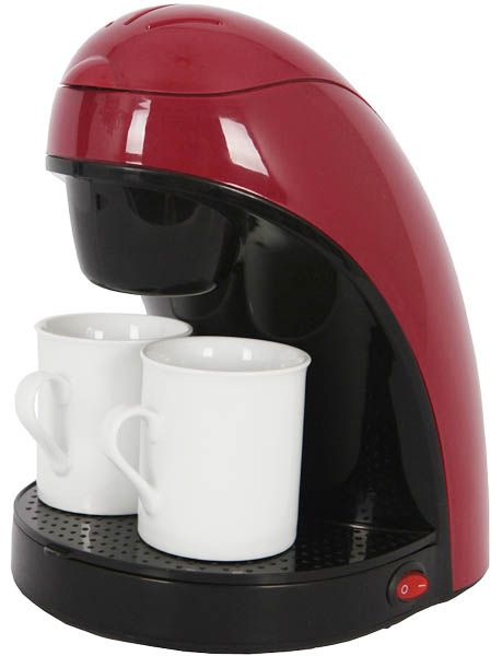 One Cup Ceramic Coffee Maker : 2 cup Coffee maker Output power: 450W On/off button with light indicator Permanent filter CE, GS ...