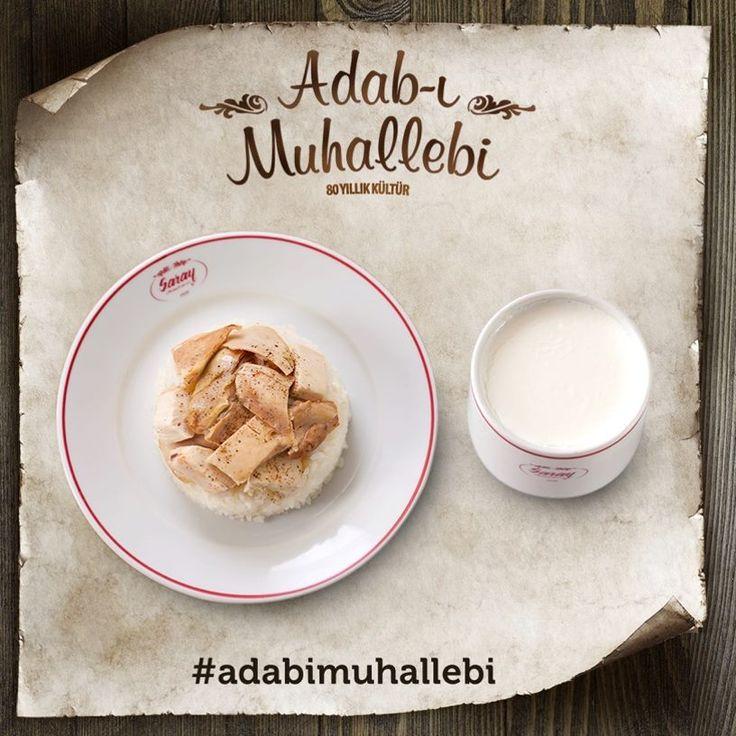 Adab-ı Muhallebi; tavuklu pilav ile günlük manda sütünden özel olarak üretilen, doğal yoğurdun eşsiz uyumudur.