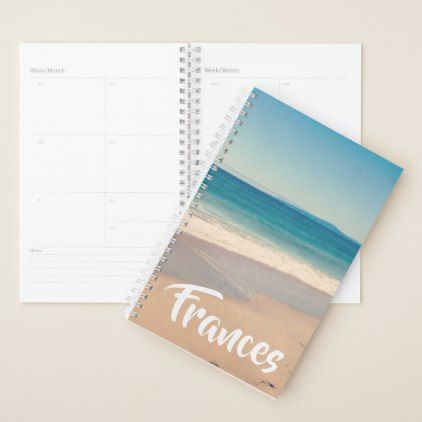 Create Your Own Vacation Photo Personalized Planner - create your own gifts personalize cyo custom