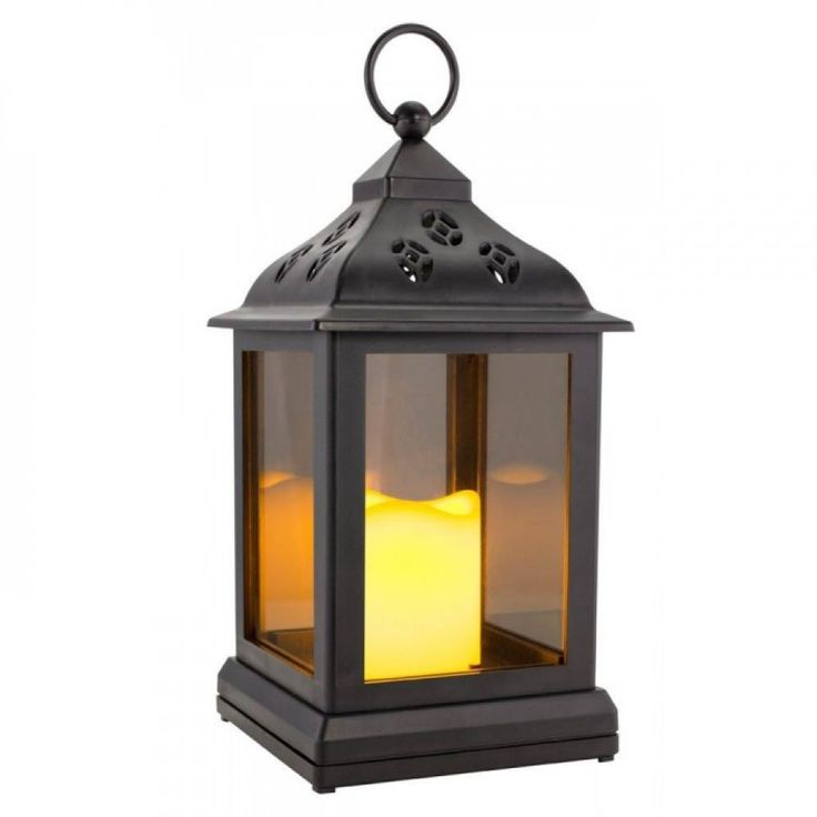 Led Flickering Light Lantern