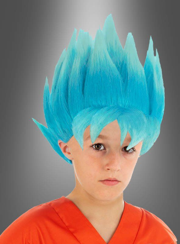Son Goku Kinderperucke Blau Aus Dragon Ball Super Dragon Ball Son Goku Goku