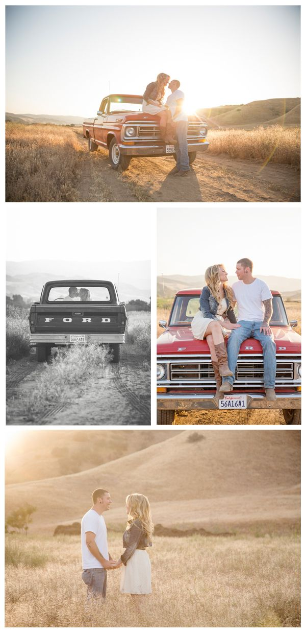 This month we found a beautiful couple and a beautiful location to feature for our Real Engagement. Danielle and Russell chose a most wonderful California setting to display their love before their nuptials next year. Russell drove his grandfather's 1972 Ford truck to the shoot, which was a great touch to add to their country prairie photos. The photographer took  ...
