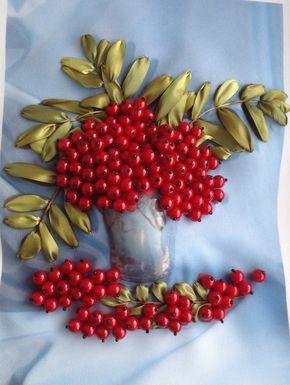 Gallery.ru / Photo # 58 - My work (embroidery ribbons) - ostrikel