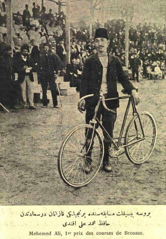 Ottoman Empire - winner of cycling race