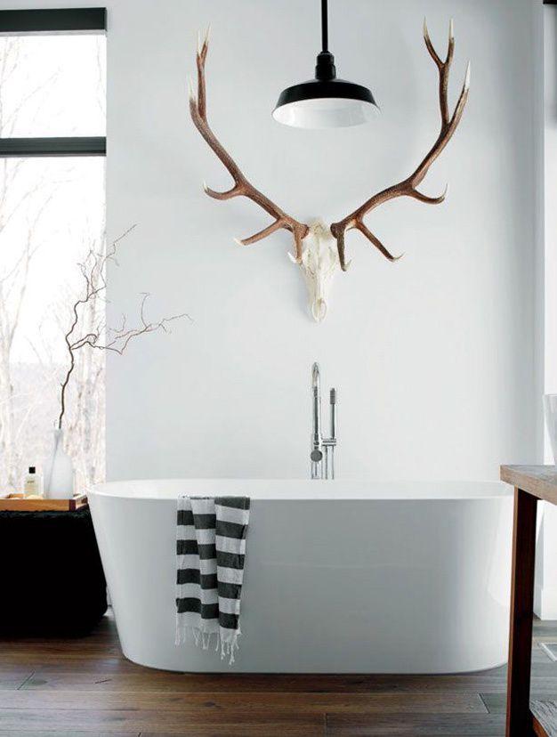 Les salles de bains vues sur Pinterest Decoration salle de bain