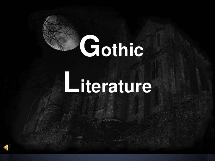 Clever title for an essay about gothic literature?