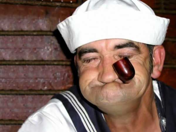 Se o Popeye existisse ele seria assim?