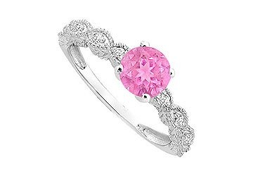 Pink Engagment Rings
