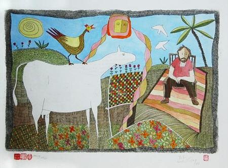 Carmel Art : Pieter Van Der Westhuizen - my favourite South African Artist!!