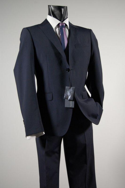 Slim fit fashion dress john barritt blue with a chest launches