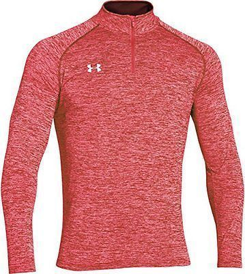 Other Mens Golf Clothing 181141: Under Armour Men S Twisted Tech 1 4 Zip Large Red Mens Golf Apparel, New -> BUY IT NOW ONLY: $142.03 on eBay!