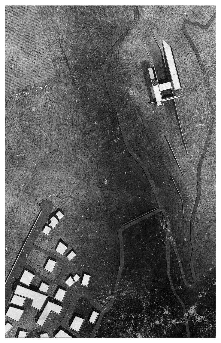 Masterplan - Creative space of music - Volos - Greece - thesis project NTUA 2016 - Valantis Matsakas, Ira Desypri. ΕΜΠ 2016 #architecture #design #masterplan  architecture, architectural plan διπλωματικες εργασιες αρχιτεκτονικη Αθηνα Πολυτεχνειο