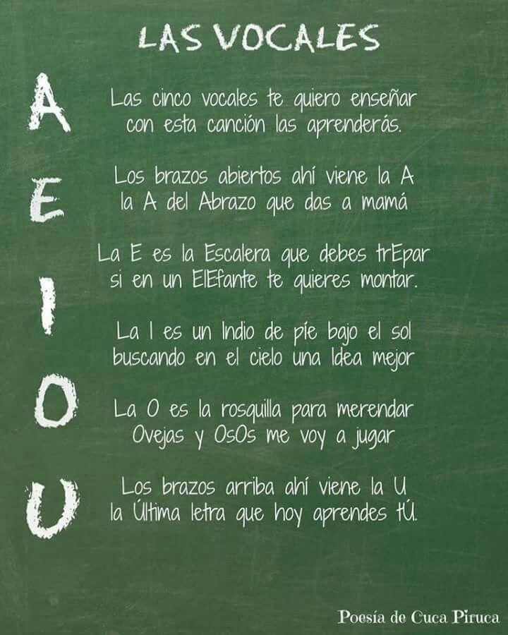 Vocales...