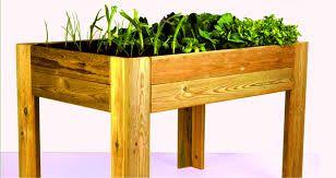 Mesa cultivo para as terrazas e balcóns