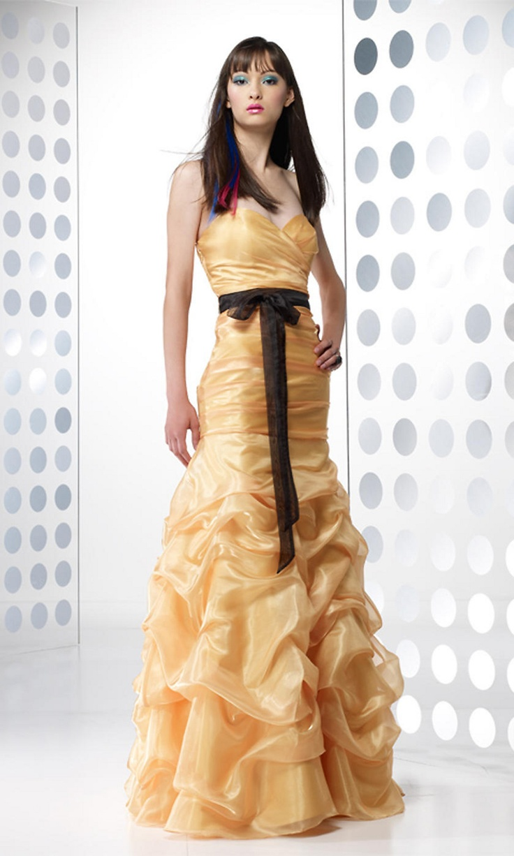 $140: Evening Dresses, Dress Prom, Fashion, Sweetheart, Prom Dresses, Yellow Dress, Dress Styles
