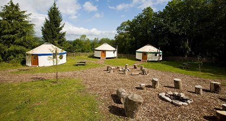 Glamping Devon. Yurtcamp is the ultimate glamorous camping, or glamping, yurt holiday experience for those who seek the simplicity of living under canvas.