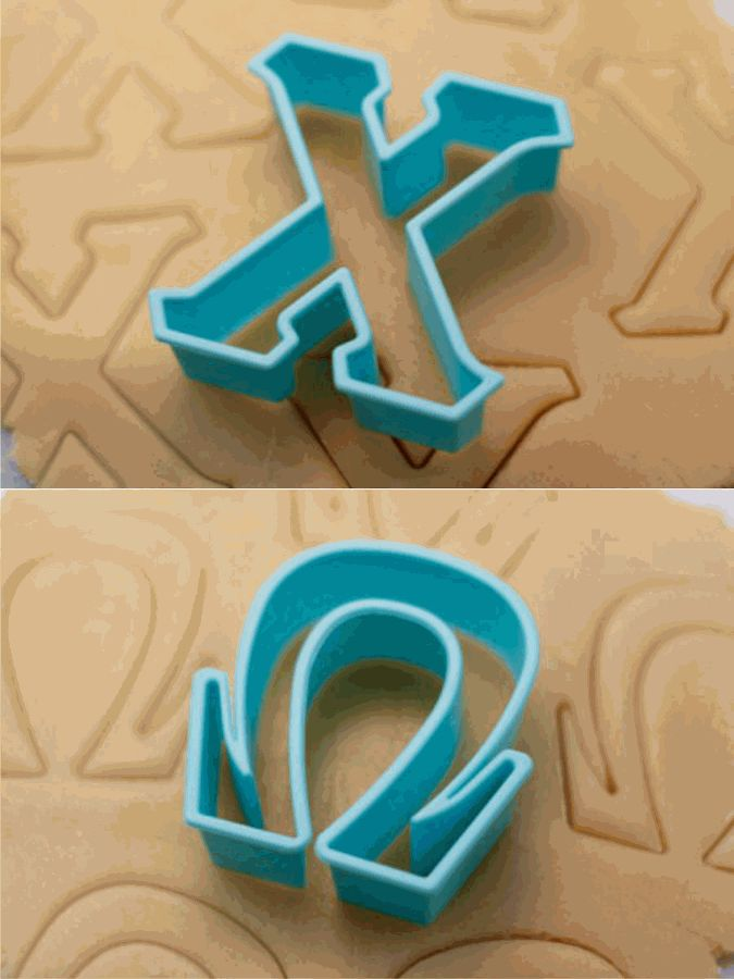 Chi Omega Cookie Cutters
