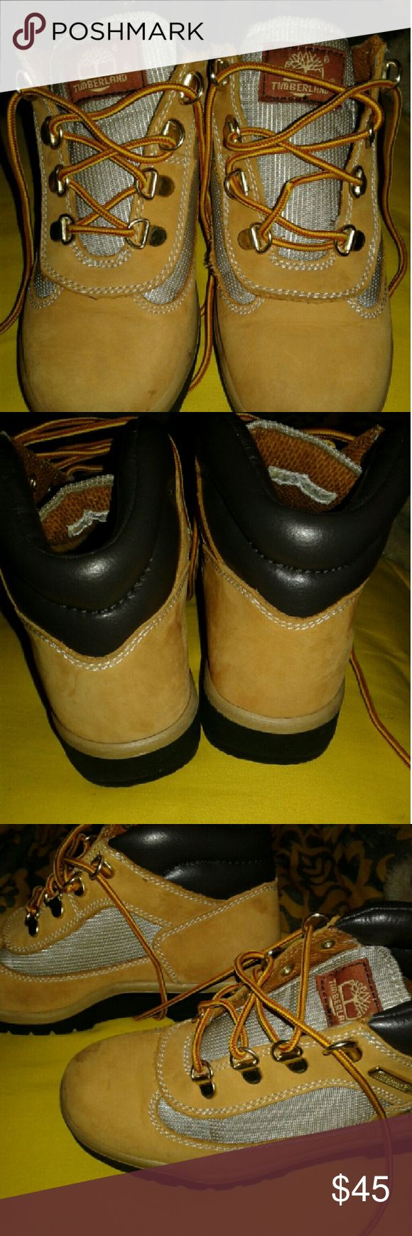 Boys timberland boots Boys field boots in exc. Condition. Timberland Shoes Boots