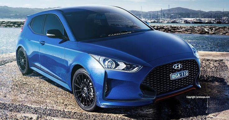 Future Cars: 2018 Hyundai Veloster Keeping it Asymmetrical, Will Get 'N' Performance Model #Future_Cars #Hyundai