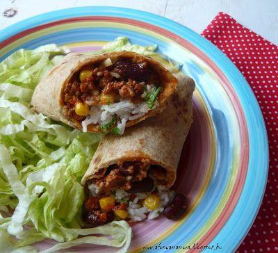 Az áfonya mámora: Burrito házi tortillával
