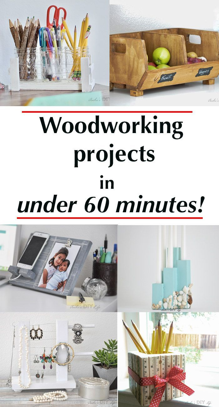 quick wood projects Looking for woodworking projects for kids if you want your kids to learn how to make some craft projects with wood, this is your list.
