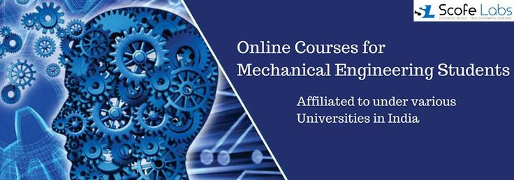 Scofe Labs is a pioneering in offering online courses for mechanical engineering students affiliated to under various universities in India. The eLearning content is curated and customised according to each University's Curriculum.