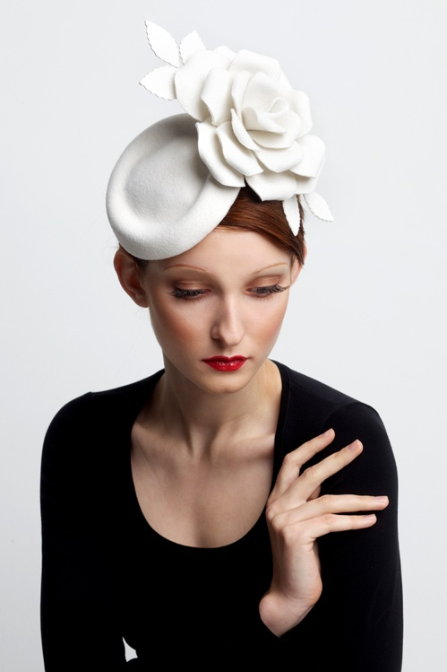 'The 39 Steps' Couture Millinery headpiece by Slyvia Jefferies from her AW2012 collection, £585
