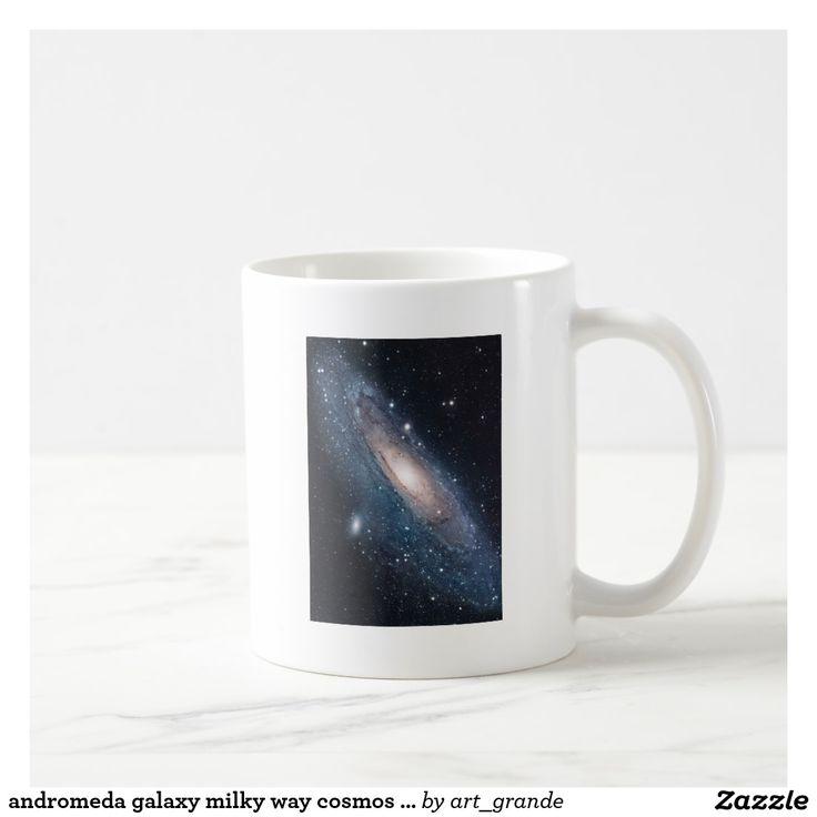 andromeda galaxy milky way cosmos universe coffee mug